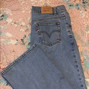 Girls Levi Flare Jeans size 14 1/2